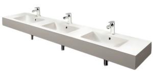 Solid Surface wash basin