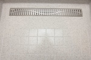 Solid surface flooring