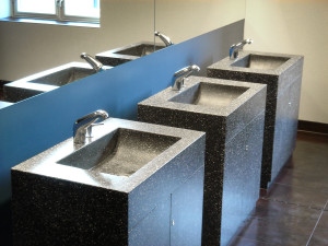 Wash basins solid surface